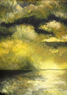 GOLDEN REFLECTIONS - original painting