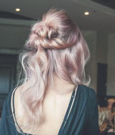 Rose gold grey color by Matt Waldron