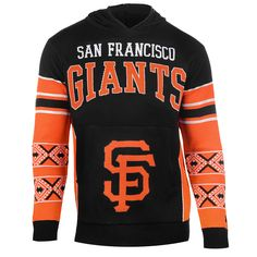 San Francisco Giants Big Logo Hooded Sweatshirt from UglyTeams