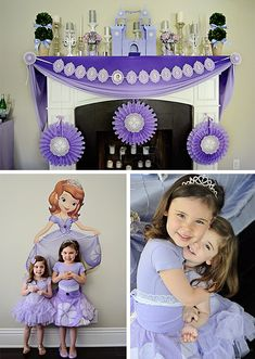 Sofia the First - Birthday girl and her sister