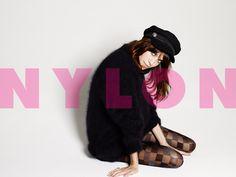 Alexa Chung en la portada de NYLON Octubre 2013