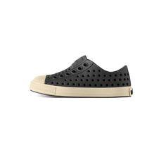 Jefferson Jiffy Black-native shoes, shoes, waterproof, animal free, natural, summer, slip on, trendy, baby boutique, designer, girl, boy, black, jiffy black