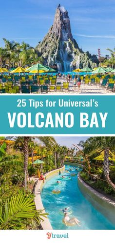Planning a trip to Universal Orlando? Here are 25 tips for visiting Volcano Bay including which water slides are best, which tickets for Universal to buy, where to stay in Orlando and much more. | Florida Travel | Orlando Travel | Family Travel | Family vacation. #VolcanoBay #Orlando #Florida #travel #traveltips #familytravel