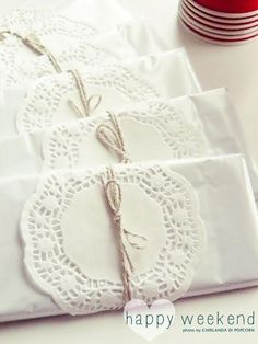 Doily Wedding Decorations