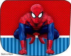 Fiesta de Spiderman: Etiquetas para Candy Buffet para Imprimir Gratis.