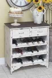 Neat idea, turn a dresser into a wine bar.
