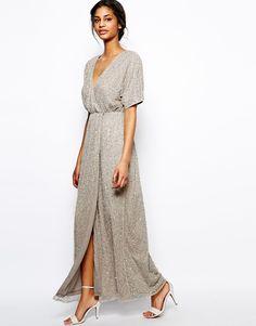 ASOS - Maxi robe kimono à sequins 119,71 €