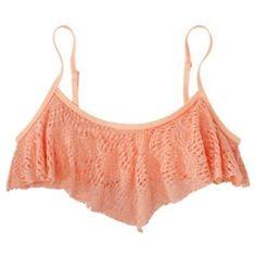 Crochet Swim Top Worn a few times! Still has wear left! Swim Bikinis