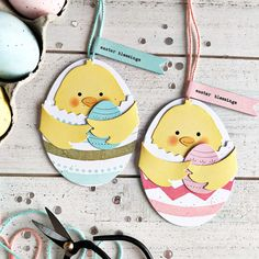 papertrey ink february release - huggables: bunny & chick   seasonal borders: spring   garden of faith