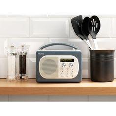 PURE EVOKE Mio DAB FM Portable Radio Pepper VL-61835