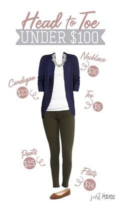 c231695d Looking for an entire look under $100 that is perfect to wear to work? This