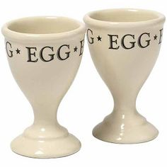 Simply Labeled Egg Cups