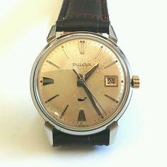 561c7b833bd Vintage Bulova Sea King Wrist Watch - DNWatch.  wristwatch  vintage   menswatch  classic  watch  watches  handwound  mechanical  engineering   bulova