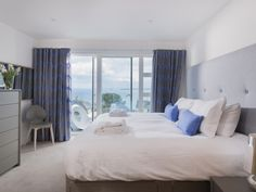 Seasalt, St Ives - Interior Design Project by Iroka.co  Calligaris PASSWORD chest and nightstands; BASIL chair in the corner