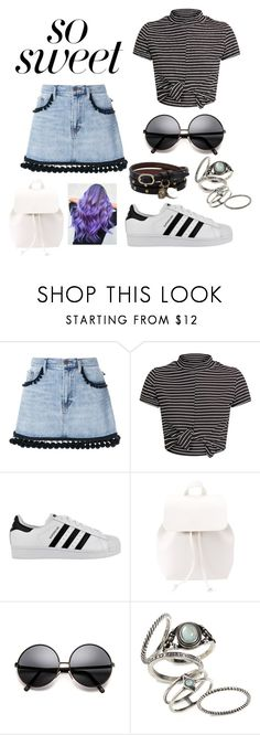 """""""1"""" by mary-reynoso on Polyvore featuring moda, Marc Jacobs, adidas, Charlotte Russe, Topshop y Alexander McQueen"""