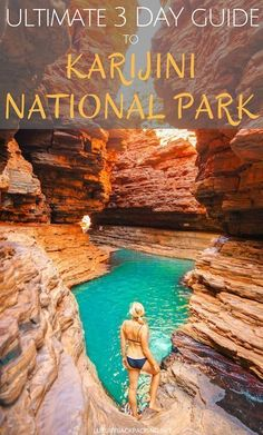 Karijini National Park is one of our favourite places in Australia. From beautiful red rock to green trees and swimming holes, it's a nature lovers playground. Check out our 3 Day Ultimate Guide To Karijini National Park. Australia Travel Guide, Visit Australia, Western Australia, Australia Trip, Queensland Australia, Australia Visa, Victoria Australia, Melbourne Australia, Travel Guides