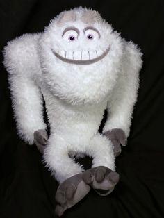 "MONSTERS INC PLUSH Doll Abominable Snowman YETI 17"" ORIGINAL Disney Store #Disney #monsterinc"