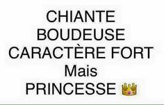 #caracterefort #princesse