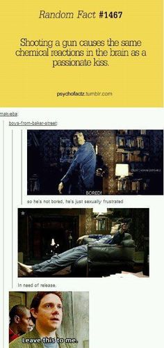 I laughed so hard when I saw John's picture at the bottom!! Still laughing! I don't ship Johnlock but this had me cracking up.