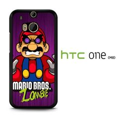 Super Mario Zombie art C0401 HTC One M8 Case