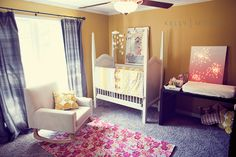 cutest little nursery for a girl