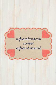 Plum & Bow Apartment Sweet Apartment Mat