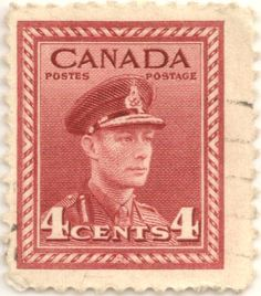 Old Canada Postage Stamps