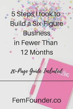 Creative entrepreneurs and small business owners, it took me a little less than a year to build a six-figure business. With this five-step framework you should be able to do the same. Click through to learn how now! #entrepreneur #onlinebusiness #startup #followback Business Management, Business Planning, Business Tips, Online Business, Business Quotes, Business School, Successful Business, Business Entrepreneur, Business Marketing