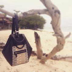 """When on vacation... bag """"Aires Pastel""""-  www.laita-baparis.com/shop/"""