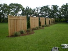 30 Best Inspiring Fence Panels For Bordering Yard, Built of panels, it may easily be extended. Our fence panels are constructed with the maximum quality materials and construction. Vinyl fence panels h. Backyard Privacy, Backyard Fences, Backyard Landscaping, Backyard Ideas, Landscaping Ideas, Outdoor Projects, Garden Projects, Outdoor Decor, Garden Ideas