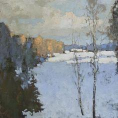 Alexander Zavarin 1954 | Russian Landscape painter by mavis