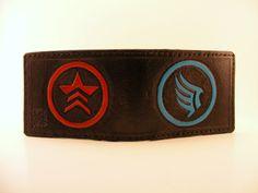 Mass Effect wallet by Sova Leatherworks