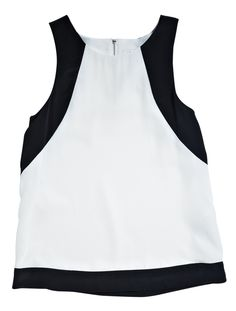 Singlet from Forever New. The Draw, Forever New, Monochrome, What To Wear, Basic Tank Top, Style Inspiration, Tank Tops, My Style, Gift