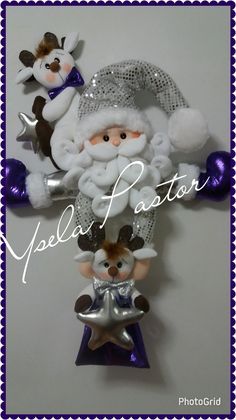 Papá Noel para pared  o puerta