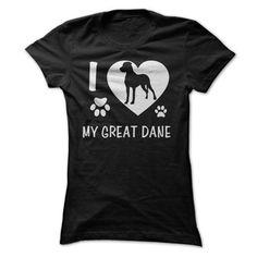 I Love My Great Dane https://www.sunfrog.com/Pets/I-Love-My-Great-Dane-ladies.html?64708