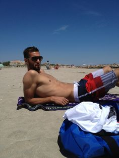 French tennis star Benoit Paire on vacation via Twitter.