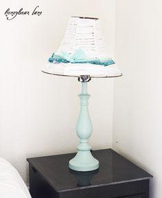 Shabby Chic Lamp Makeover
