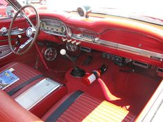 Learn How To sell your photos online easily And Make Profits. Custom Car Interior, Truck Interior, 1964 Ford Falcon, Old Muscle Cars, Ford Ltd, Mercury Cars, American Classic Cars, Sprint Cars, Ford Fairlane