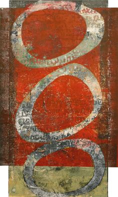 """Profound Promise, by Anne Moore, monotype, 20""""X 12"""""""