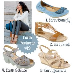 Stylish Earth Sandals for $49