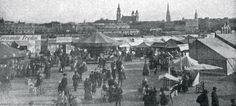 Urfahraner Markt 1911 Paris Skyline, Painting, Travel, Image, Linz, Historical Pictures, Paintings, Viajes, Traveling