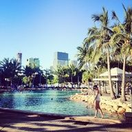 Streets Beach at South Bank #thisisqueensland #instagram photo by @Gary Pepper Vintage