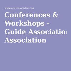 Conferences & Workshops - Guide Association Conference, Workshop, Education, Atelier, Work Shop Garage, Onderwijs, Learning
