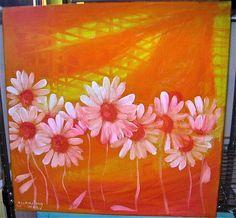 acrylique sur toile 40/40 by me