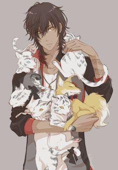 Touken Ranbu Boys Anime, Chica Anime Manga, Hot Anime Guys, Cute Anime Boy, Manga Boy, Anime Art, Anime Sexy, Touken Ranbu, Fanarts Anime