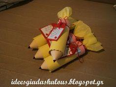 Ιδέες για δασκάλους: Γλυκά μολυβάκια! Κεράσματα για το ξεκίνημα της νέας σχολικής χρονιάς!