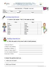 hello, my name's... worksheet - Free ESL printable worksheets made by teachers