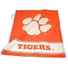 Clemson Tigers NCAA Woven Golf Towel