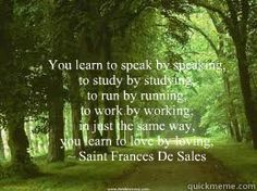 Saint Frances De Sales - from whom my great grandfather is named.