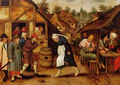 Pieter Brueghel the Younger, The Egg Dance